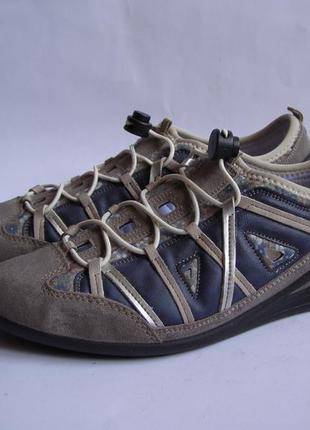 Спортивные летние туфли rieker, р. 40 - 26 см