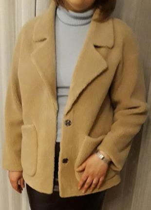 Куртка из натуральной шерсти овчины.