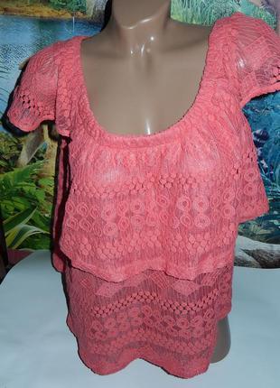 Next красивая футболка-разлетайка 18р-р,на наш 50-54,можно для беременных