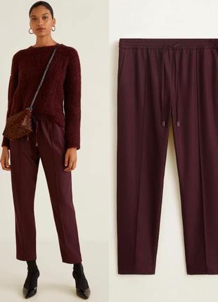 Классные повседневные брюки свободного кроя
