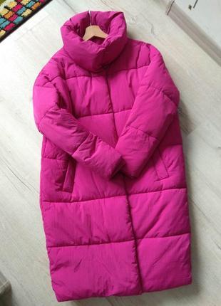 Куртка пальто пуховик sinsay размер xs s m оверсайз1 фото