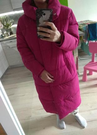Куртка пальто пуховик sinsay размер xs s m оверсайз6 фото