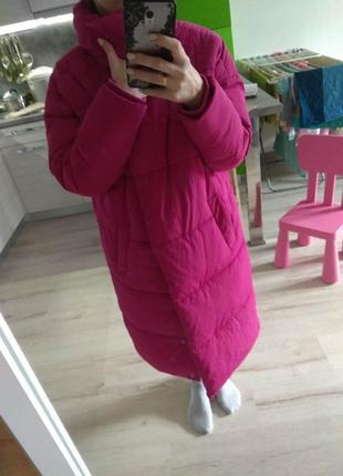 Куртка пальто пуховик sinsay размер xs s m оверсайз4 фото