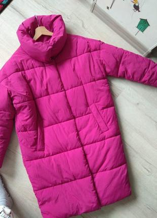 Куртка пальто пуховик sinsay размер xs s m оверсайз5 фото