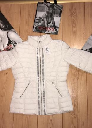 Куртка guess оригинал! большой размер! новая!