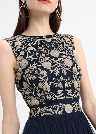 Выпускное платье с открытой спиной