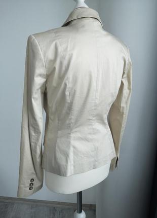 Бежевый пиджак жакет3 фото