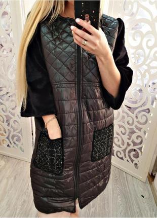 Крутое модное пальто