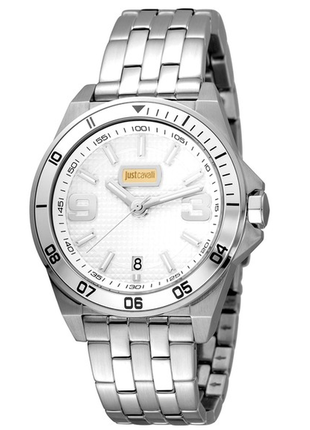 Мужские спортивные швейцарские часы just cavalli men's sport swiss watch, 40 мм, оригинал!