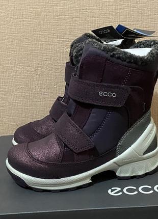 Зимние сапоги ботинки ecco biom новые оригинал