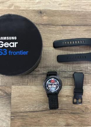 Продається смарт-годинник samsung gear s3 frontier