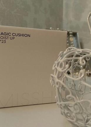 Missha magic cushion увлажняющий 15 г + запасной блок 15