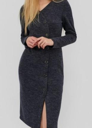 Теплое платье футляр