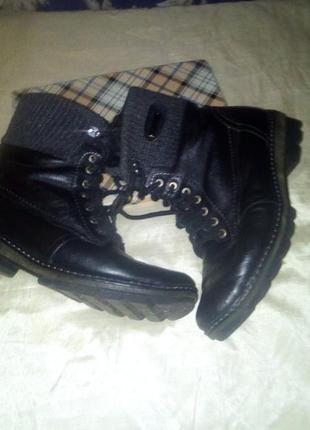 Кожаные ботиночьки р 41