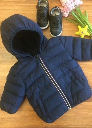 Классная демисезонная куртка для маленького малыша next 3-6 месяцев