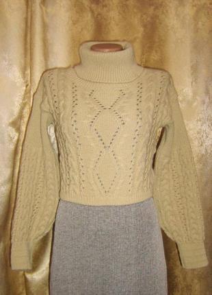Модно и стильно, укороченный свитер от американского бренда rebellious