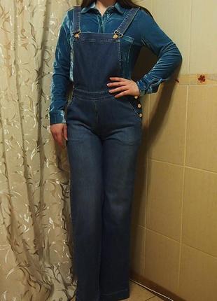 Комбинезон max&co m - l  джинс высокий рост