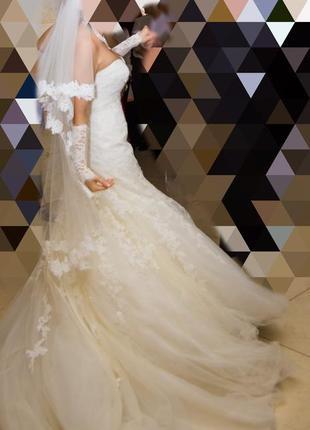 Свадебное платье pronovias2 фото