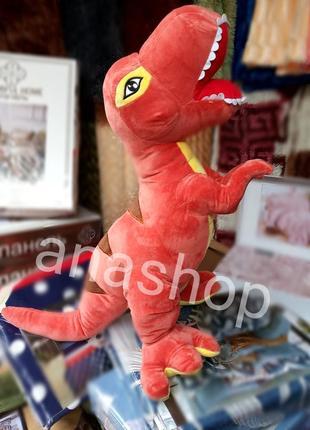 Подушка, плед игрушка динозавр