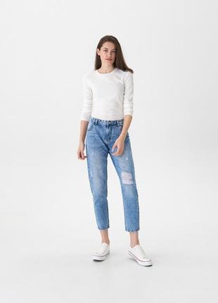 Классные boyfriend mom джинсы
