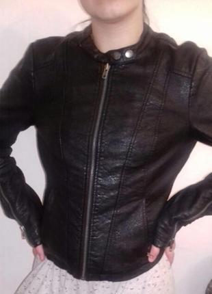 Куртка кожанная, экокожа