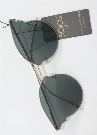 Модные женские солцезащитные очки sojos