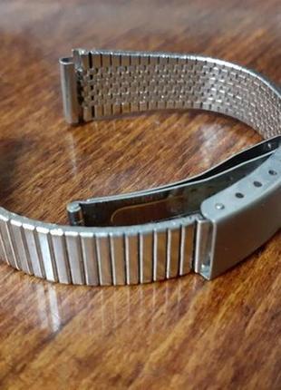Ремешок (браслет) от часов ссср, металлический из нержавеющей стали