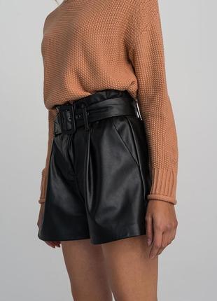 Кожаные шорты befree
