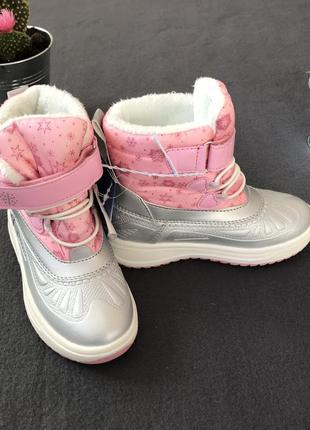 Зимние сапожки, чоботи, сапоги, термоботинки для девочки