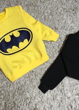 Спортивный костюм бэтмен для мальчика 86-128