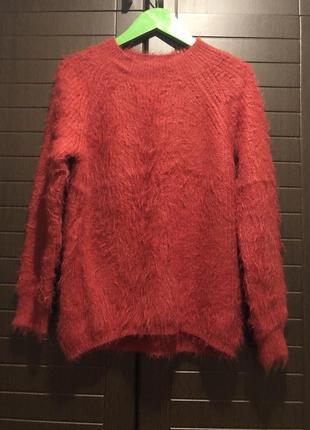 Стильный свитерок травка красивого цвета