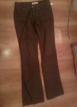 Прямые брюки в стиле casual. новые стильные штанишки nice