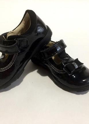 Туфли clarks с мигалками (21р) 5м,стелька 13