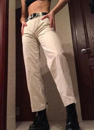 Брендовые белые штаны