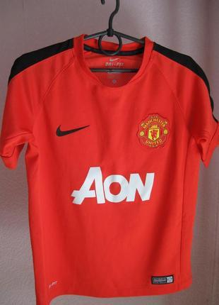 Футболка manchester united на 8-10 лет