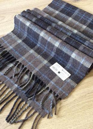 Новый мужской шарф marks spencer шерсть