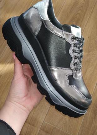 Кожаные кроссовки fabio gutti последние размеры