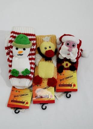 Детские вязаные носочки со стоперами attractiveв ассортименте. код 1049
