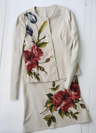 Очень красивый, элегантный, нарядный костюм