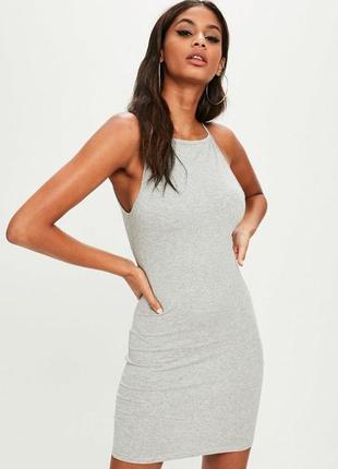 🔥 total sale 🔥базовое платье по фигуре missguided ms745
