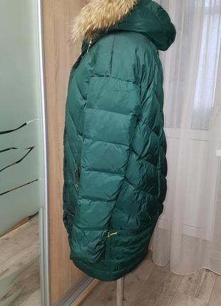 Стильное натуральное пуховое пальто!