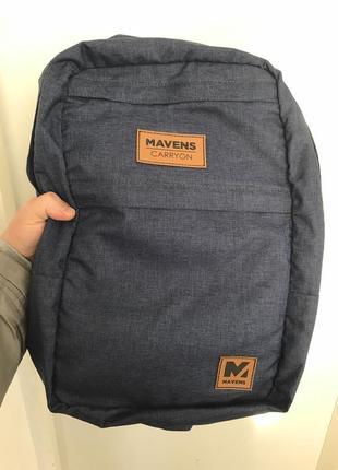Рюкзак «mavens carryon» для ручной клади wizz air (40х30х20) | ryanair (40х20х25)5 фото