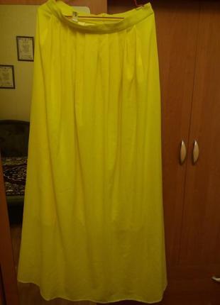 Продам шикарную юбку в пол из шифона