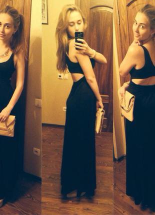 Вечернее платье bershka