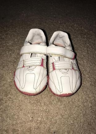 Шкіряні дитячі кросівки / кожаные детские кроссовки