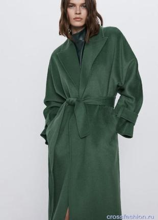 Пальто халат zara