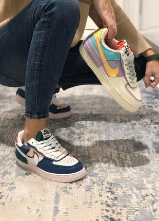 Nike air force 1 shadow шикарные женские кроссовки найк