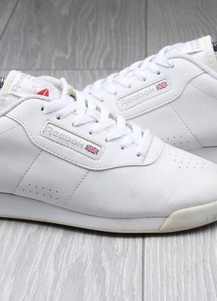Кроссовки reebok classic оригинал белые кожаные размер 40 кожа