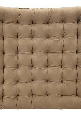 Подушка на стуло 43х43х5см стеганная