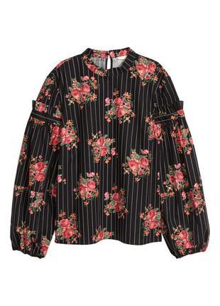 Шикарная блуза с объемными рукавами от h&m ❤️